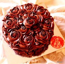 Chocolate Lovers Birthday Cake