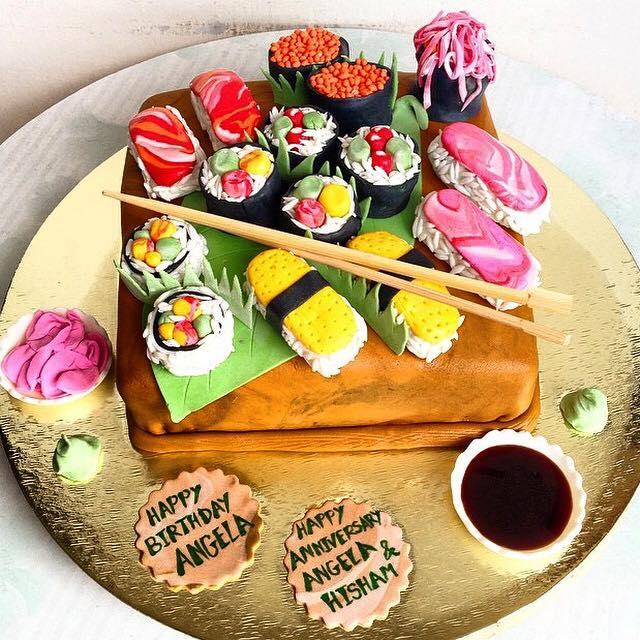 Sushi Lover 3D Cake