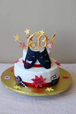 Theater Lover Birthday Cakes