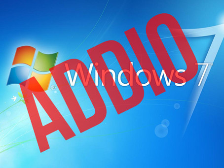 WINDOWS 7: FINE DEL SUPPORTO A INIZIO 2020