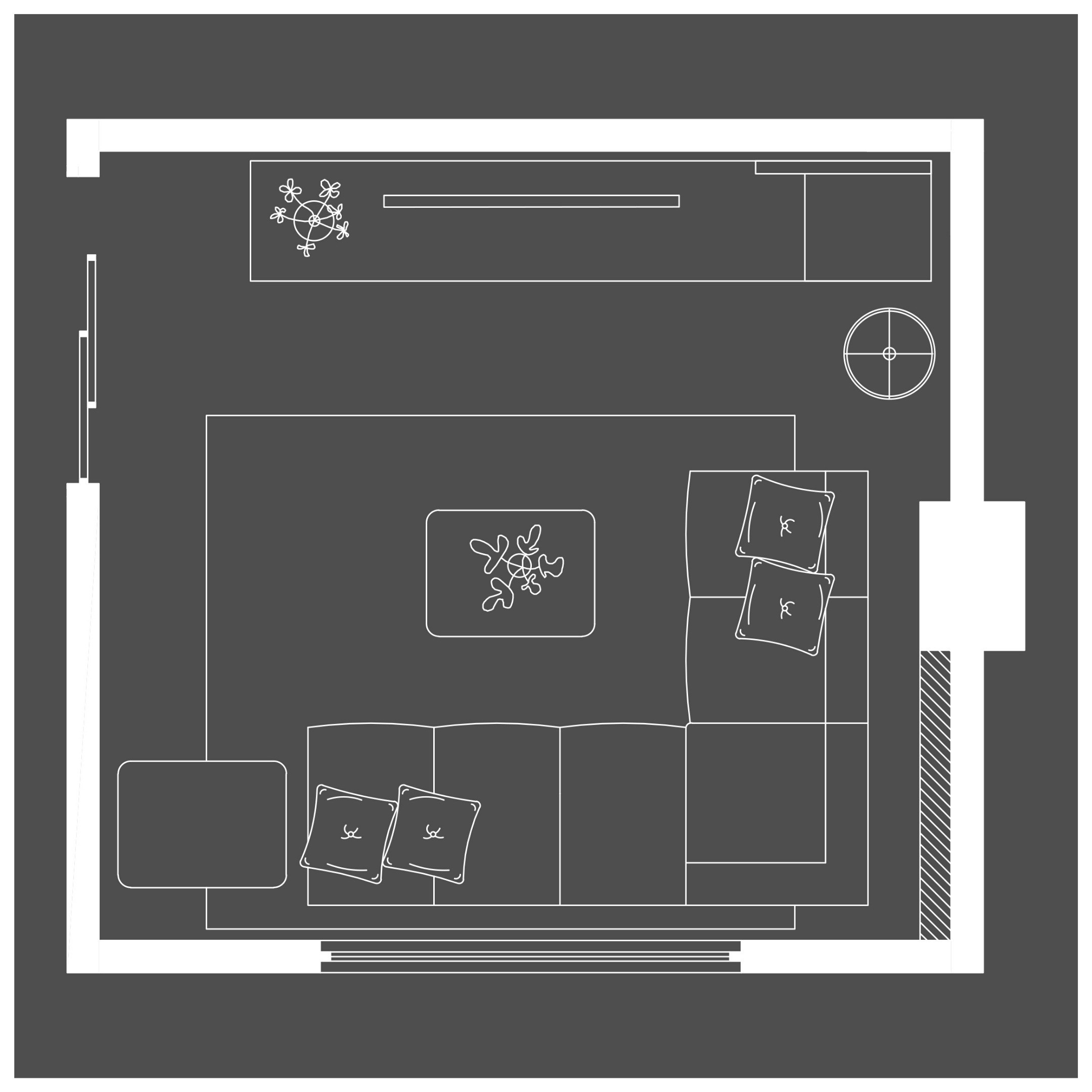 Realización de planos y distribución
