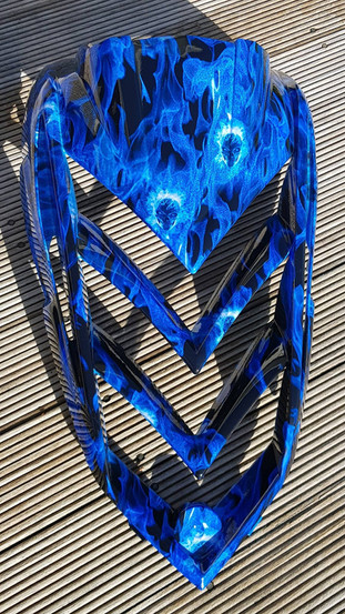 bike parts blue flaming skulls.jpg