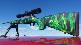 gunstock green flaming skulls.jpg