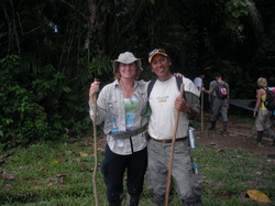 Trekking in the Amazon
