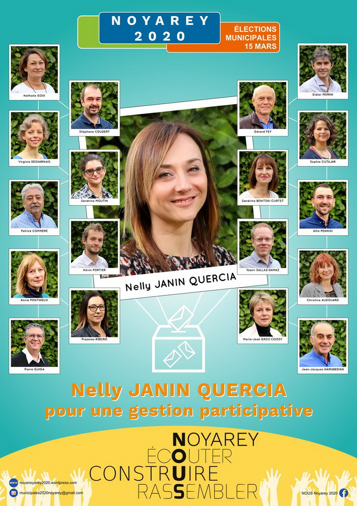 Affiche élections municipales 2020