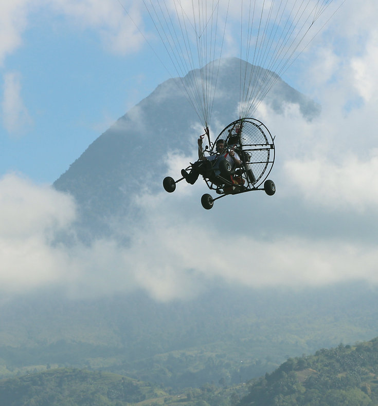 Philippines Paramotor Training and Tours