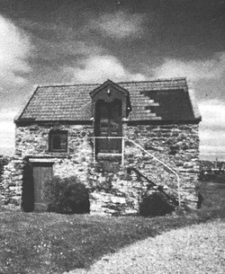 The stone house, where Blanche Marshall McLane used to sit and write.