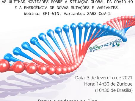 #15. COVID-19: Situação Global e Mutações recentes