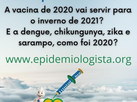 #9. INFLUENZA 2021: a vacina de 2020 funciona em 2021?