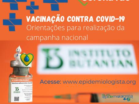 #10. VACINAÇÃO CONTRA COVID-19: Orientações do MS para realização da Campanha Nacional
