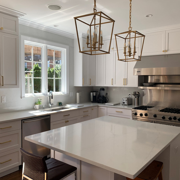 All White Kitchen - Spring Valley