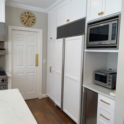 All White Kitchen - Spring Valley
