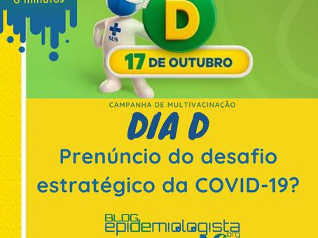 Dia D da multivacinação, prenuncio do desafio para COVID-19