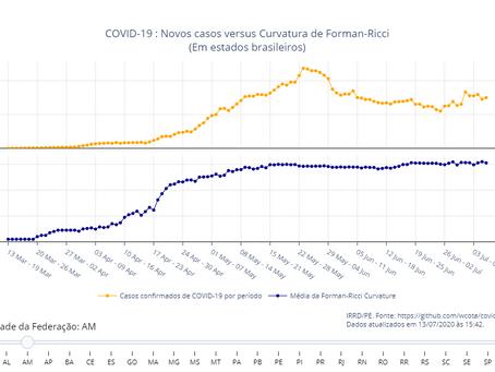 COVID-19: análise do padrão de incidência e tendência temporal de casos e óbitos até SE28/2020