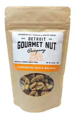 Handcrafted Maple Walnuts - 4.6 oz. bag