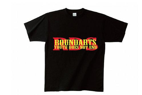 ROUNDARTS Tシャツ 黒