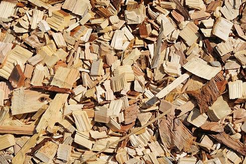 木材チップ