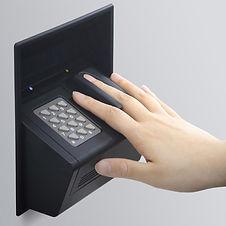 指紋認証操作
