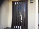 タッチキー付き最新玄関ドア