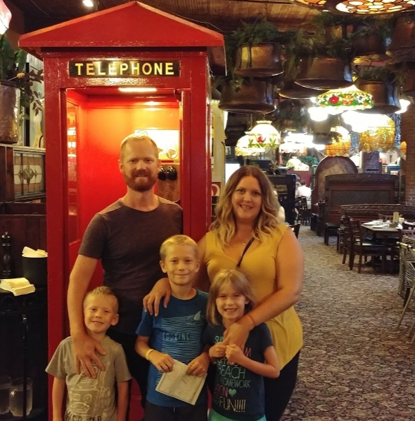 Dinner at The Old Spaghetti Factory