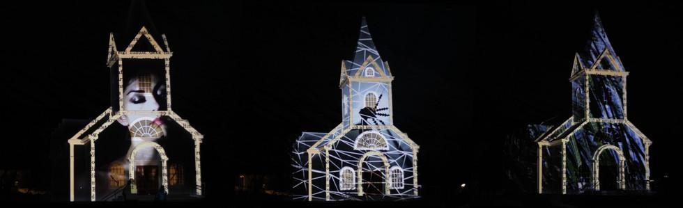 ICELAND VIDEOMAPPING List í ljósi Festival - Seyðisfjörður, Island