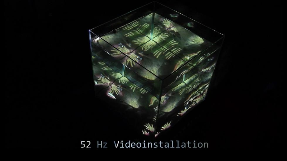 WASSER LICHTINSTALLATION 52 HZ