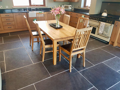 Where does your flagstone floor come from?