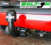 Horizontal Detachable Brink tow bar
