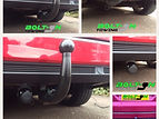 Bolt-On Towing various detachable tow bars