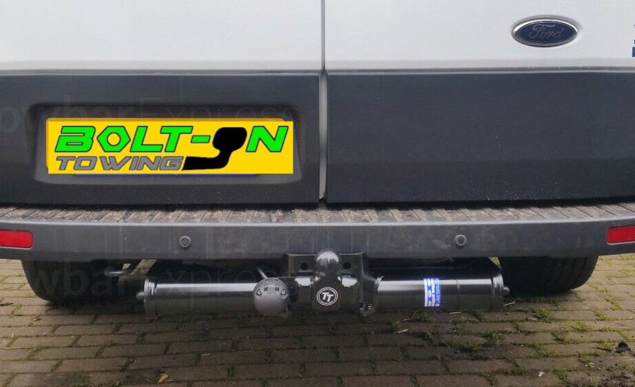Ford Transit fixed flange tow bar