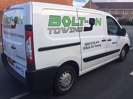 Bolt-On Towing mobile towbar fitter