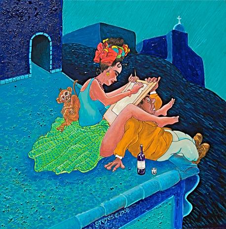 Frida's Easel