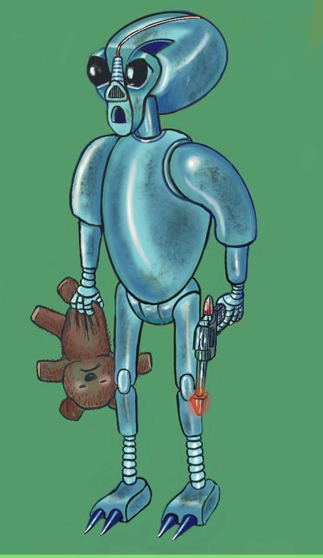 More Evil Robot