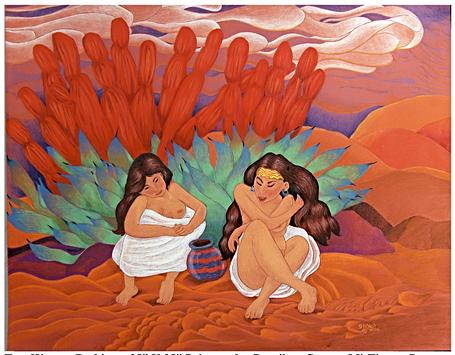Two Women Bathing