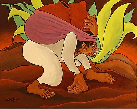 Pulque Bearer