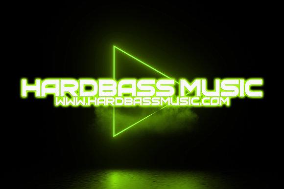 HARDBASS MUSIC Flag 2021 - 100X70CM