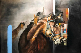 Reverberaciones sobre caballo