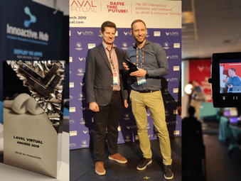 Innoactive wins Laval Award for the best XR productivity solution