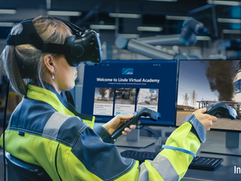 Innoactive and Linde team up to expand the use of VR training in the Oil & Gas industry