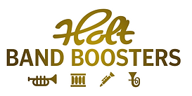 Holt Band Boosters Logo - Original Gold