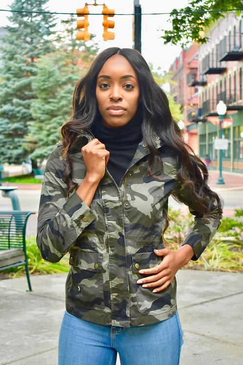 Camouflage Fall Jacket