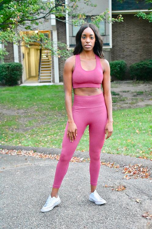 Punch Pink Workout Set