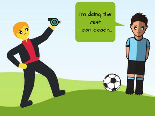 Coach-player dynamics need work