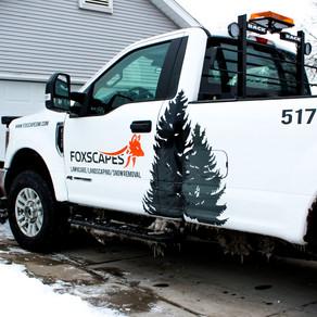 Residential Snow Removal Setup
