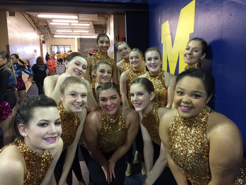 Holt Varsity Dance competes at last competition of the year