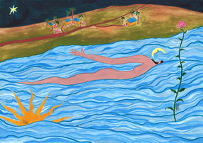 A sensação de quem se deixa levar por um rio e também por um sonho