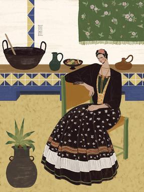 para Made by woman Zines :: Frida