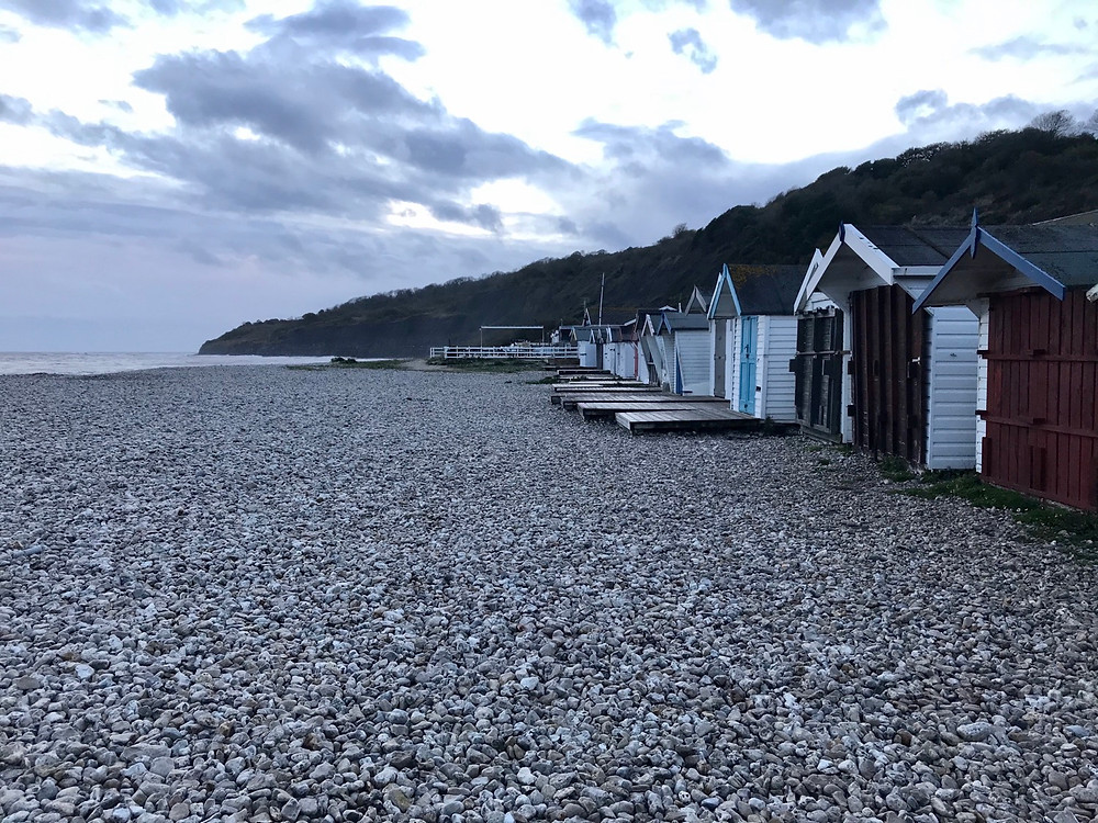 Monmouth beach fossil hunting for kids Lyme Regis