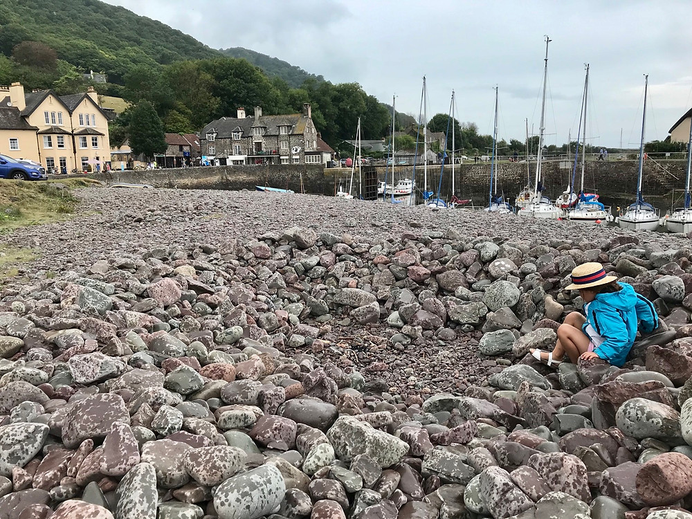 Porlock Weir West Somerset things to do with kids