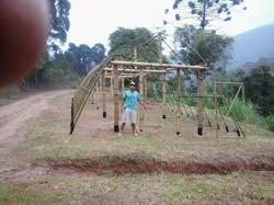 estufa de bambu